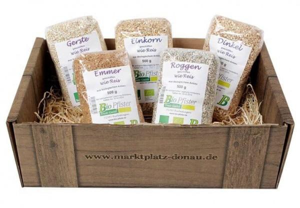 Marktplatz Donau - Getreide Box