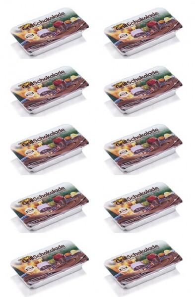 Grillschokolade Vollmilch 10er Pack