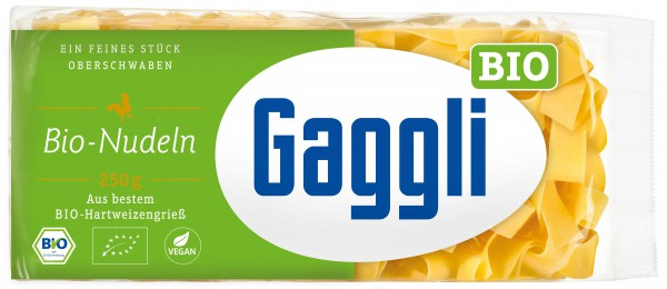 Gaggli BIO Bandnudeln Breit
