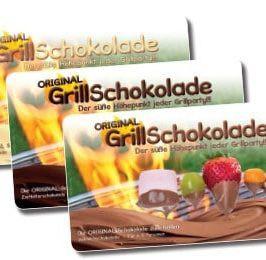 GrillSchokolade Dreierlei