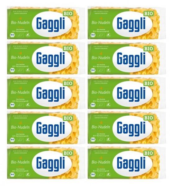 Gaggli BIO Bandnudeln Breit 10er Pack