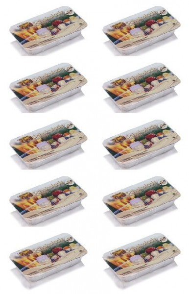 Ofenschokolade weiß 10er Pack