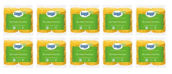 Gaggli BIO Faden Nestchen 10er Pack